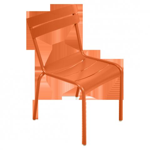 Chaise LUXEMBOURG de Fermob carotte