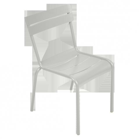 Chaise LUXEMBOURG de Fermob gris métal
