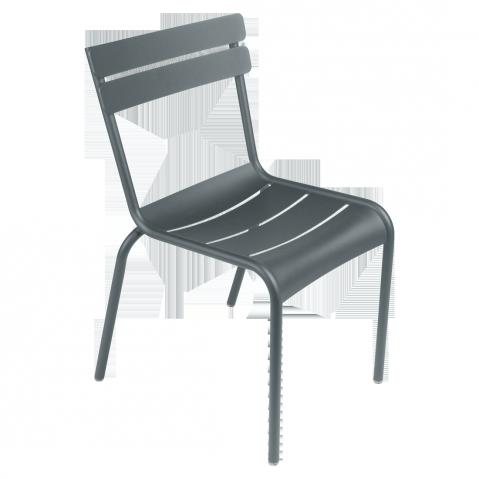 Chaise LUXEMBOURG de Fermob gris orage