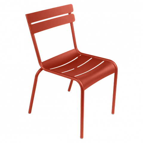 Chaise LUXEMBOURG de Fermob paprika