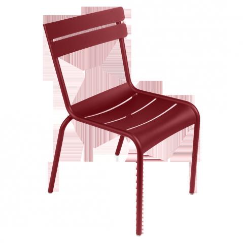 Chaise LUXEMBOURG de Fermob piment