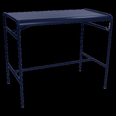 Table haute LUXEMBOURG de Fermob, Bleu abysse