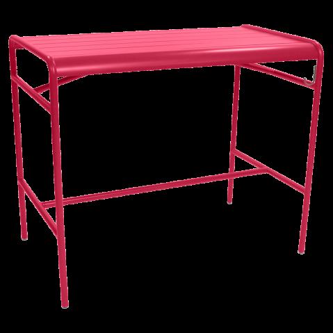 Table haute LUXEMBOURG de Fermob, Rose praline