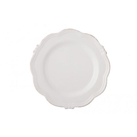 Manosque Assiette de Flamant, Blanc
