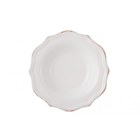 Manosque Assiette Soupe de Flamant, Blanc