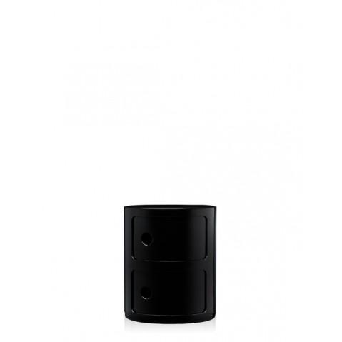 Meuble de rangement COMPONIBILI de Kartell, petit modèle, Noir
