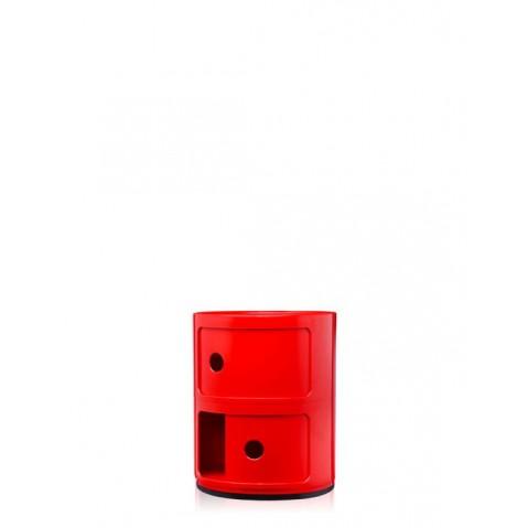 Meuble de rangement COMPONIBILI de Kartell, petit modèle, Rouge