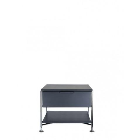 Meuble de rangement MOBIL de kartell, Ardoise Opaque, Simple