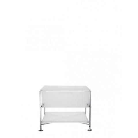Meuble de rangement MOBIL de kartell, Blanc Glace, Simple