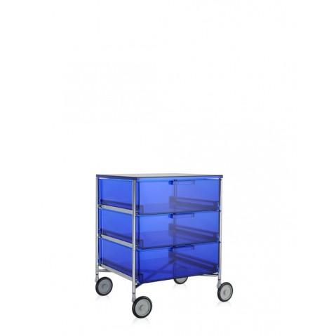 meuble de rangement mobil trois tag re de kartell 7 coloris. Black Bedroom Furniture Sets. Home Design Ideas