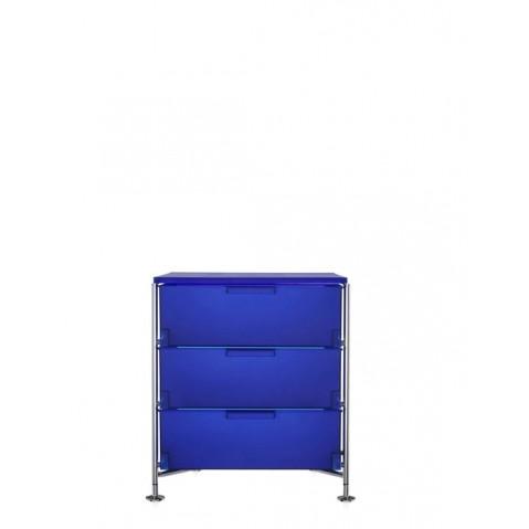 Meuble de rangement MOBIL trois étagère de Kartell, Colbat, Simple