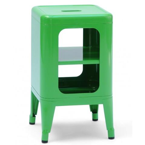 Meuble tabouret MT500 de Tolix Vert