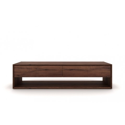 Meuble TV NORDIC NOYER d'Ethnicraft, 180x46x45