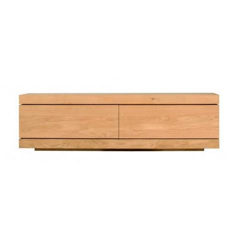 Meuble tv OAK BURGER d'Ethnicraft , 1 porte flipdown / 1 tiroir, Largeur 140cm