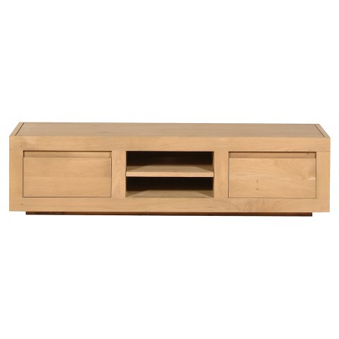 Meuble tv OAK FLAT d'Ethnicraft, 2 tiroirs