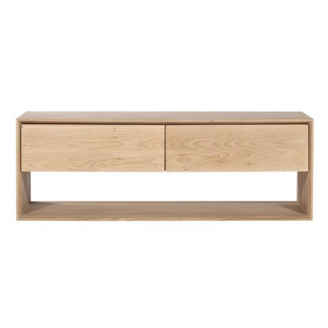 Meuble tv OAK NORDIC d'Ethnicraft , 1 porte abattante / 1 tiroir, L.120