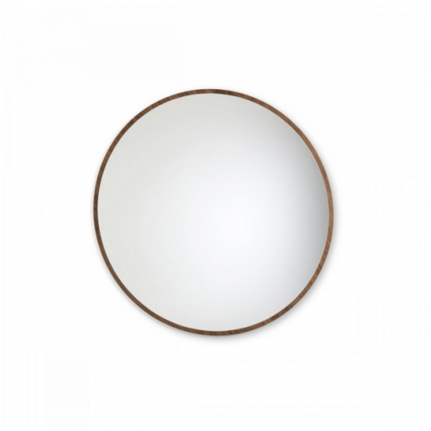 Miroir BULLE de Sarah Lavoine, Ø75, Noyer