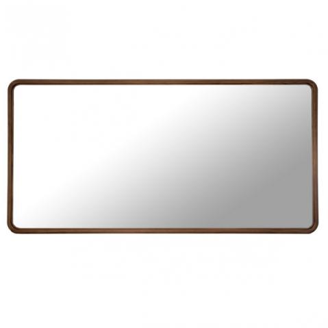 Miroir HAUSSMANN de Sarah Lavoine, 200x100, Noyer