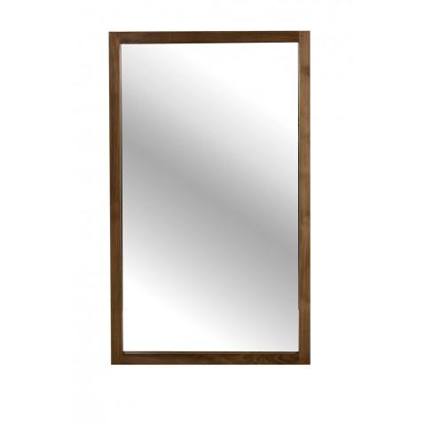 Miroir LIGHT FRAME en teck d'Ethnicraft, Hauteur 150cm