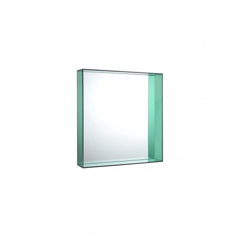 Miroir ONLY ME de Kartell, Vert, L.50 X H.50 X P.9