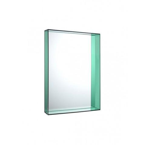 Miroir ONLY ME de Kartell, Vert, L.50 X H.70 X P.9