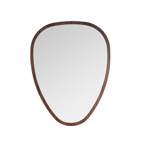 Miroir OVO de Sarah Lavoine, 50 x 38, Noyer