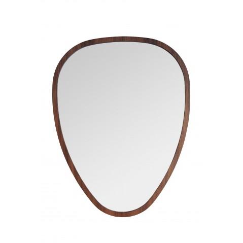 Miroir ovo de sarah lavoine 69 x 90 noyer for Miroir 90 x 150
