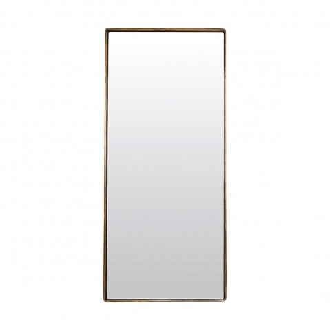 miroir reflect de house doctor 80x35 noir mat. Black Bedroom Furniture Sets. Home Design Ideas