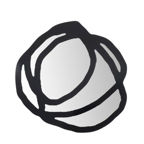 Miroir SWEET 97 de Gervasoni grand modèle, noir