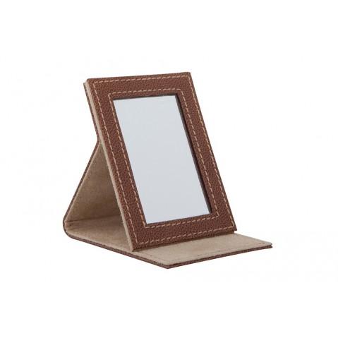 Miroirs Petit miroir Granada de Flamant, Marron