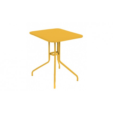 Table rabattable PÉTALE de Fermob 60 Miel