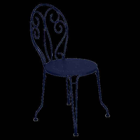 Chaise MONTMARTRE de Fermob, Bleu abysse