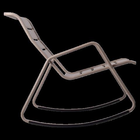 Rocking Chair MONCEAU de Fermob, Carbone