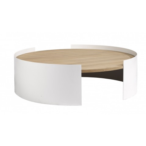 Table basse MOON d'Ethnicraft, 2 coloris
