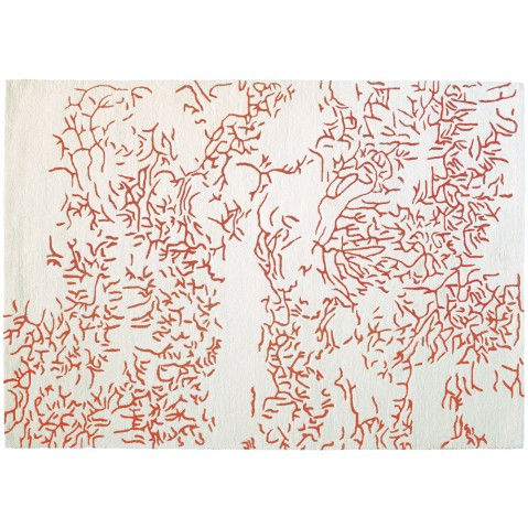 Tapis NATURE de Toulemonde Bochart, 170x240, Corail
