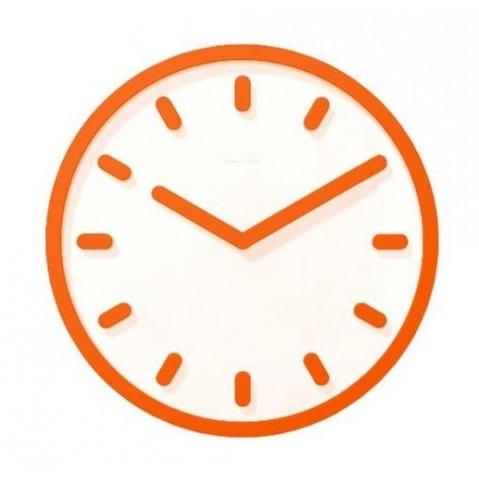 Horloge TEMPO de Magis orange