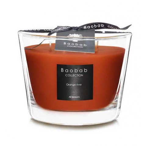 Bougie ORANGE RIVER de Baobab Collection, 4 tailles