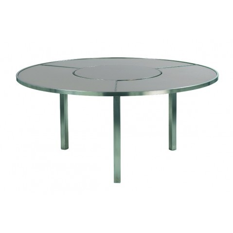 Table O-ZON 160 verre EP de Royal Botania, 2 coloris