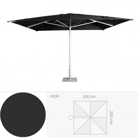 Parasol COSTA de Jardinico noir