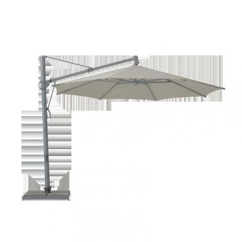 Parasol décentré SOMBRANO Easy de Glatz Gris 350x350