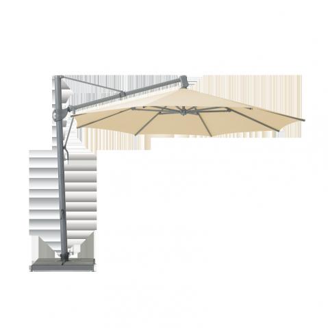 Parasol décentré SOMBRANO Easy  de Glatz Ivoire 300x300
