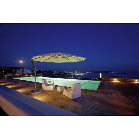 parasol d centr sunwing c de glatz 2 formes 4 tailles 19 coloris. Black Bedroom Furniture Sets. Home Design Ideas