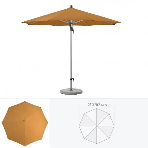 Parasol FORTERO de Glatz rond D.350 cm vert poireau