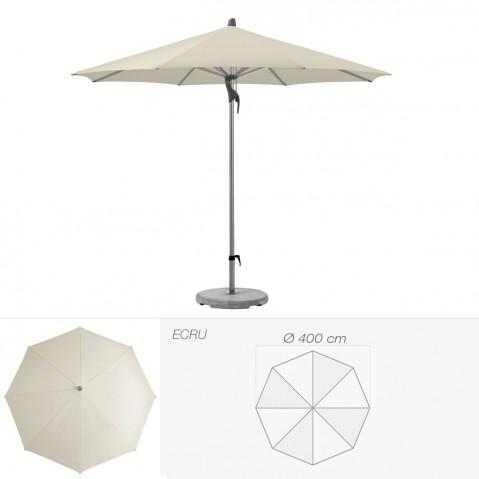 Parasol FORTERO de Glatz rond D.400 cm écru
