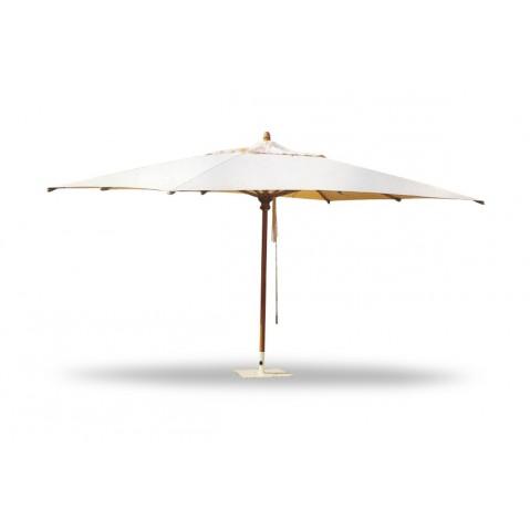 Parasol rectangle ivoire 220x330