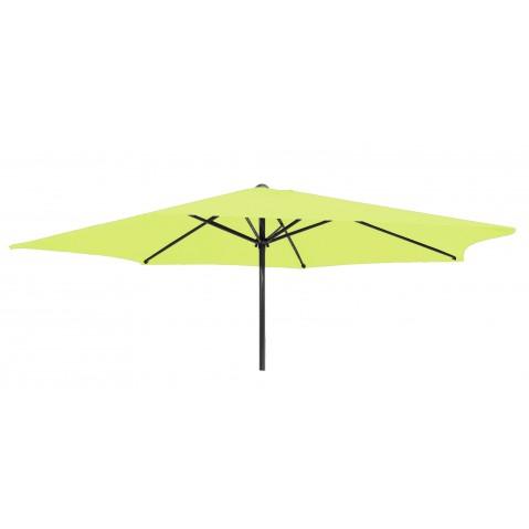 Parasol rond GEDEON en aluminium, Vert lime