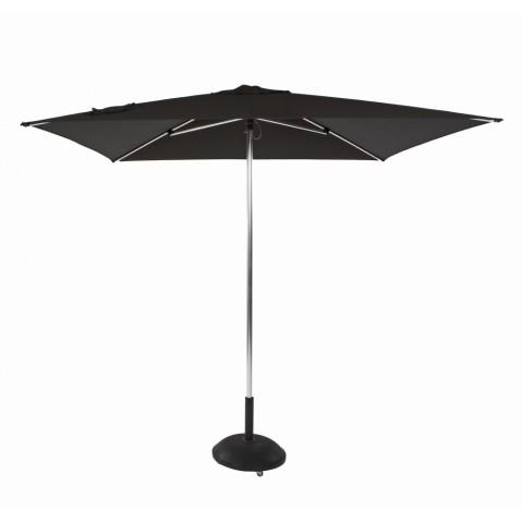 Parasol TIKI PUSH-UP de Jardinico, 3 tailles, 4 coloris