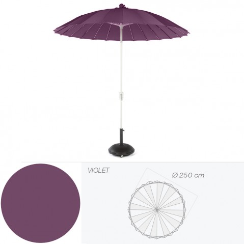 Parasol Waikiki de Jardinico violet