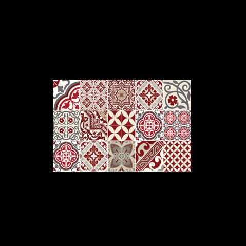 set de table eclectic rouge de beija flor. Black Bedroom Furniture Sets. Home Design Ideas