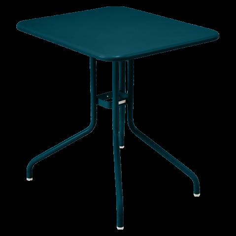 Table rabattable PÉTALE de Fermob 60 cm, bleu acapulco